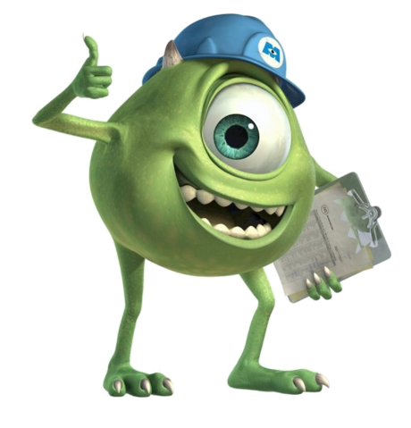 File:Mike Wazowski Render (1).png