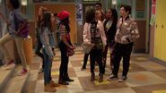 Raven's Home - 1x05- You're Gonna Get It - Tess, Nia, Shannon and 8th graders