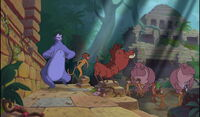 TIMON AND PUMBAA IN THE JUNGLE BOOK 2