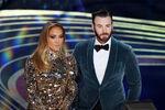 Chris Evans & Jennifer Lopez 91st Oscars