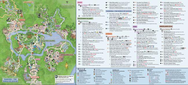 Disney-animal-kingdom-map