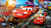 Disney-s-cars-2--wallpaper-by-fluffydesignshd-d67prz2