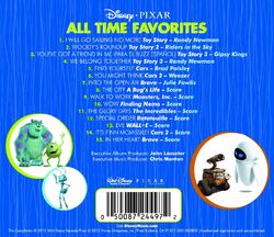 Disney pixar all time favorites back cover
