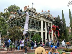 Haunted Mansion Holiday at Disneyland