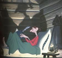 Ichabod Crane in Bed
