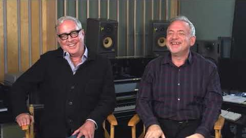 Mary Poppins Returns Interview with Scott Wittman - Songwriter Marc Shaiman - Songwriter Composer