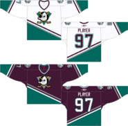 Mighty Ducks 1993 original jerseys