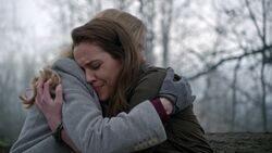 Once Upon a Time - 4x20 - Mother - Maleficent and Lily Hug