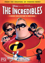 The Incredibles 2005 AUS DVD
