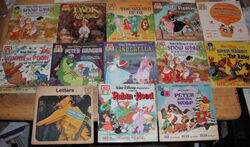 Disney Read Along Book and Tapes