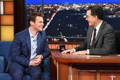 Jonathan Groff visits Stephen Colbert