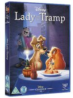 Lady and the Tramp UK DVD 2014