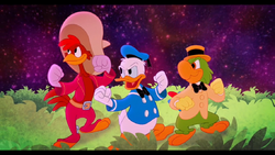 Legend of the three Caballeros trio