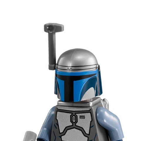 Figurka Jango w klockach LEGO.