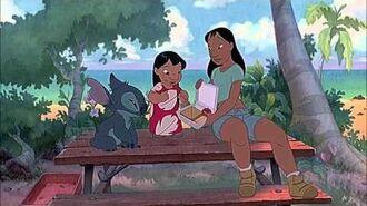 Lilo & Stitch (2002) Scene 'Stuck on You'.