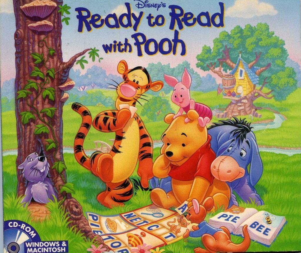 Winnie The Pooh Reading