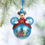Sorcerer Mickey Mouse Icon Ornament - Walt Disney World 2016