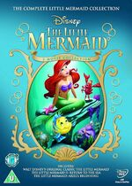 The Little Mermaid 1-3 Box Set 2013 UK DVD