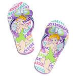 Tinker Bell Flip Flops for Girls