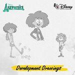 Amphibia development drawings - Anne 1