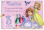 Disney Card Sofia & Sister