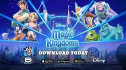 Disney Magic Kingdoms Official Launch Trailer