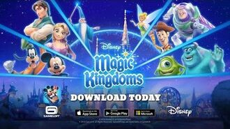 Disney Magic Kingdoms Official Launch Trailer