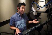 Eric Bauza recording booth