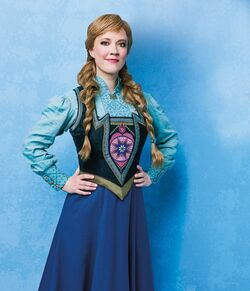 Frozen Musical cast photos - Anna