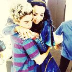 Hugs w/ Carson