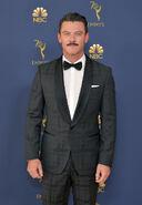 Luke Evans 70th Emmys