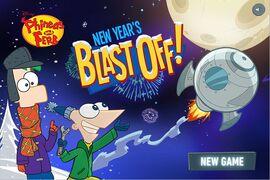 Menu - New Year's Blast Off!