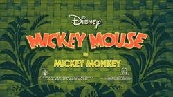 Mickey Monkey Title Card