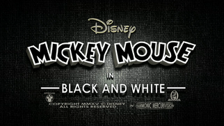Mickey Mouse Black and White titlecard