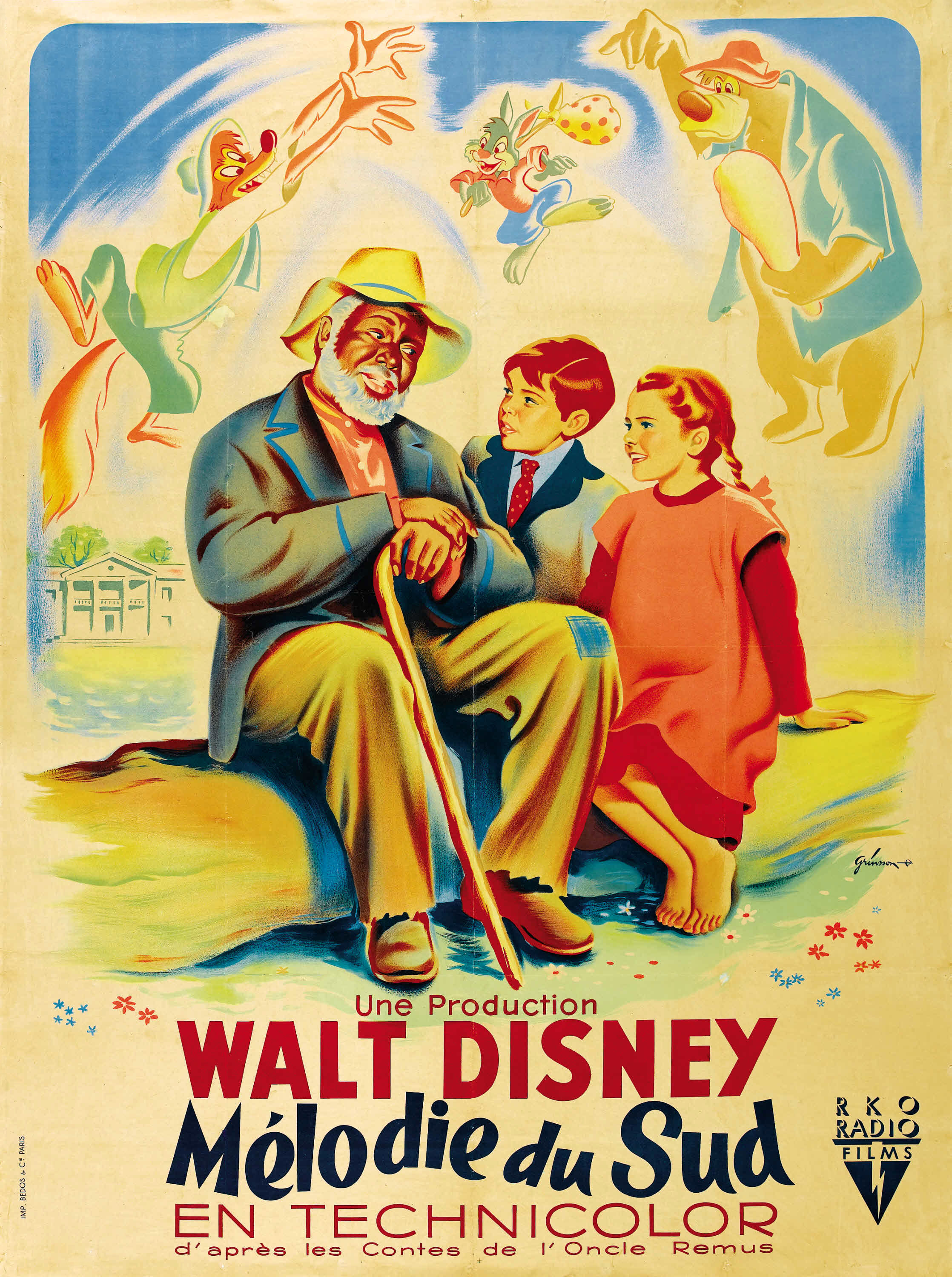 image poster song of the south 07 jpg disney wiki fandom