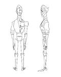 Robot Obake concept 2