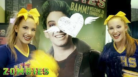 Cheerleaders LOVE Zombies 💓 ZOMBIES Disney Channel