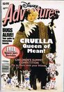 Disney Adventures Magazine Australia january 1997 cruella dalmatians
