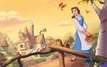 Disney Princess Belle's Story Illustraition 2