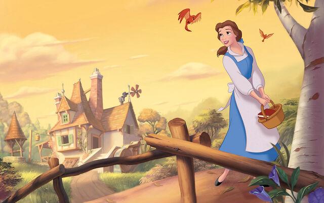 File:Disney Princess Belle's Story Illustraition 2.jpg