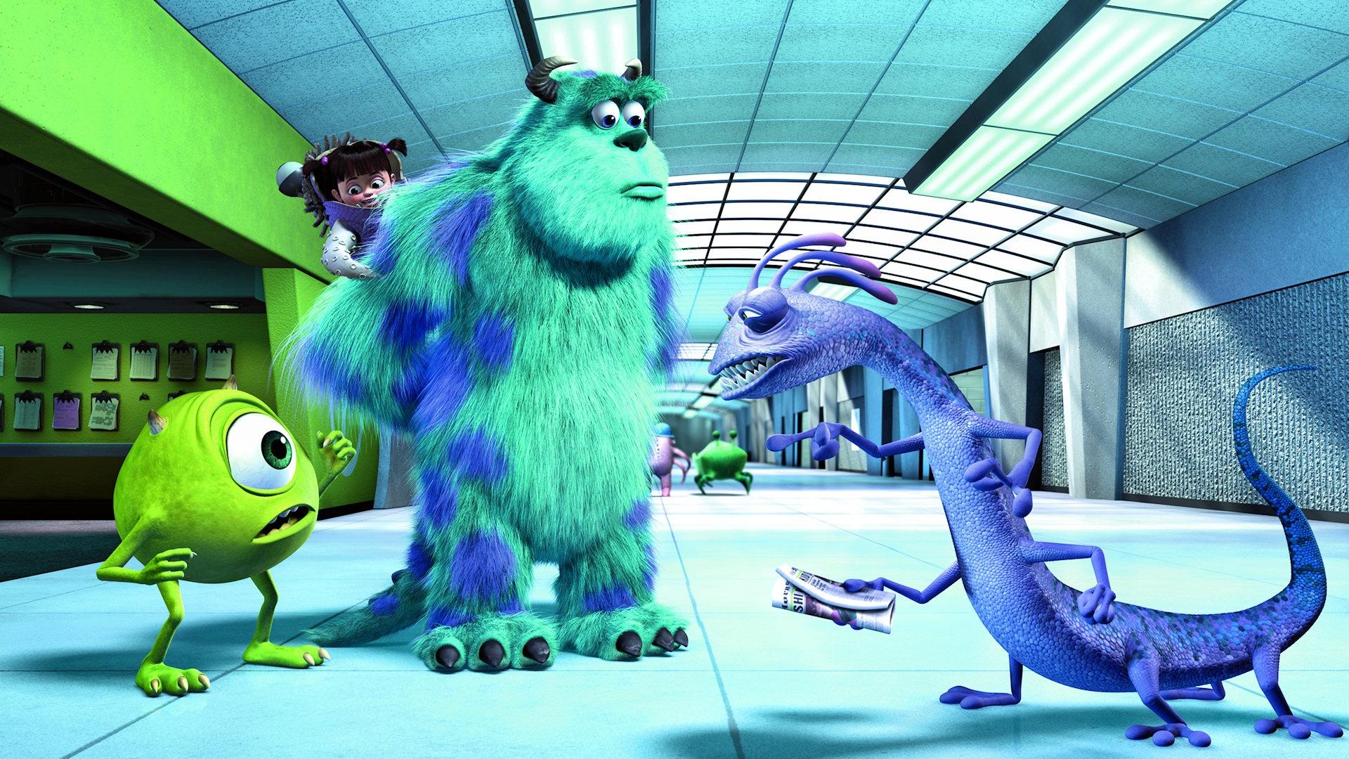 Fein Monster Ink Malvorlagen Randall Bilder - Malvorlagen Von Tieren ...