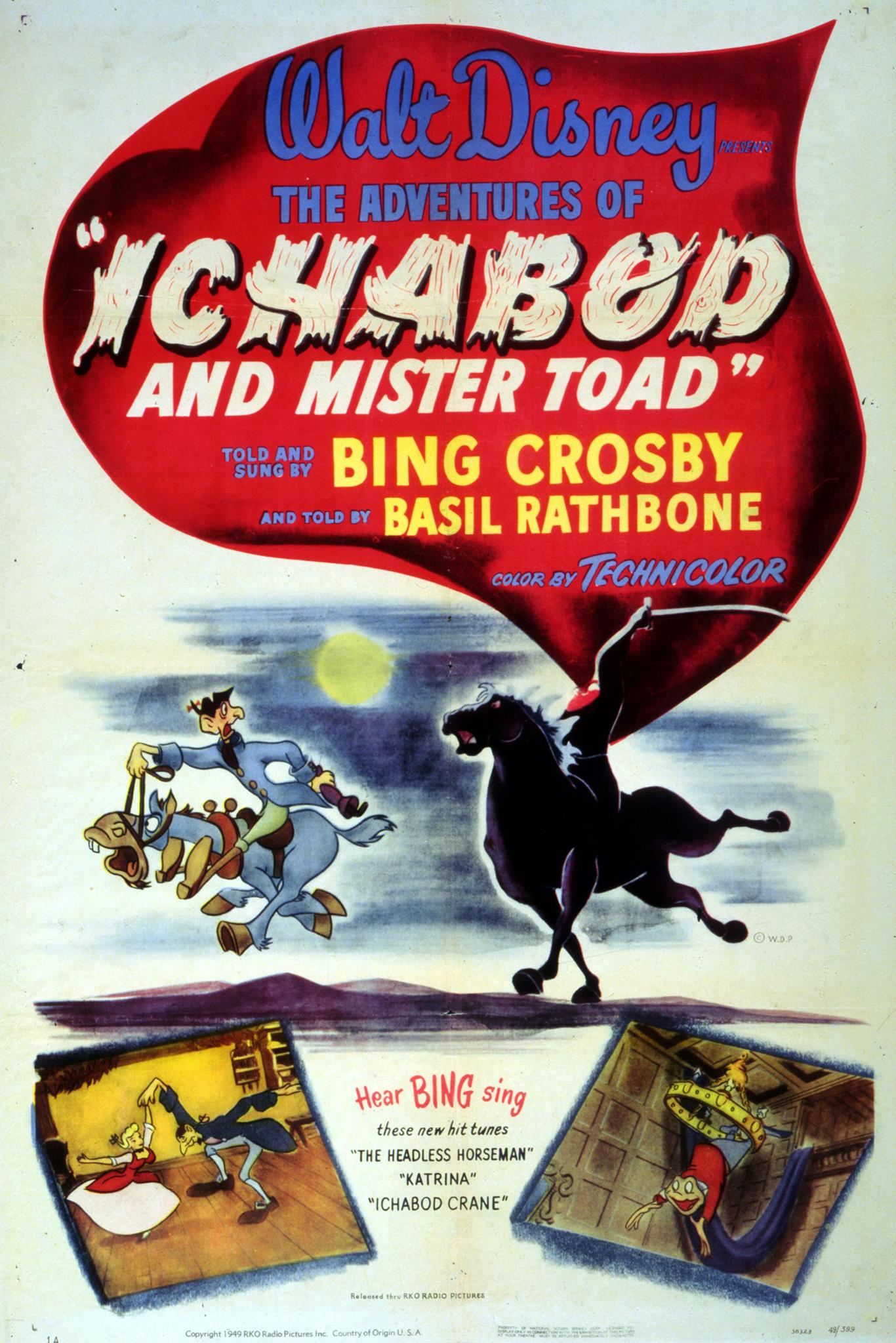 The Adventures of Ichabod and Mr. Toad  Disney Wiki  Fandom