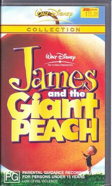 James and the Giant Peach 2003 AUS VHS