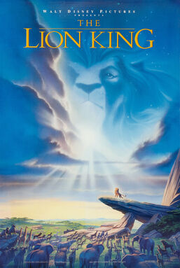 Lion King Theatrical Poster 1994