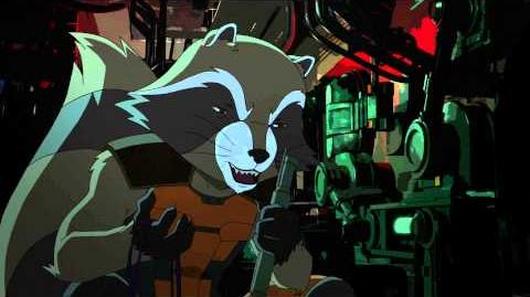 Marvel's Guardians of the Galaxy - Rocket Raccoon Origins Pt