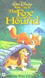 The Fox And The Hound (2000 UK VHS)