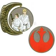 WDW - Star Wars Weekends 2009 - Symbols - Rebel Alliance Luke Skywalker and Leia
