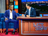 Anthony Mackie visits Stephen Colbert