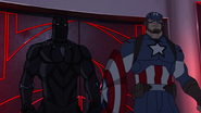 Cap and Panther Secret Wars 01