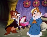 Chip Giving Chocolates to Clarice